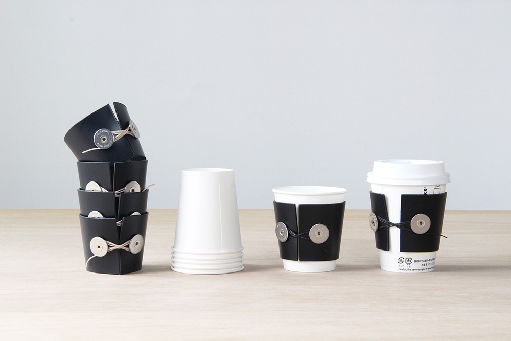 BP. / CUP SLEEVE (NAVY x BEIGE) / CS-01-N